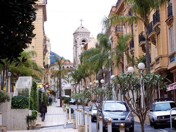 les rues de Beausoleil