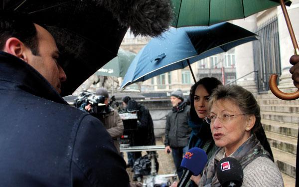 Yann-Antony Noghes pendant un tournage