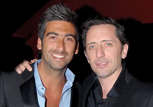 Samy et Gad Elmaleh.