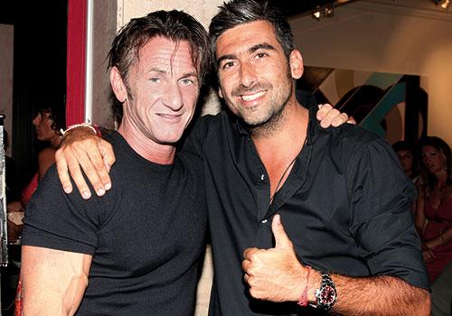 Samy et Sean Penn.