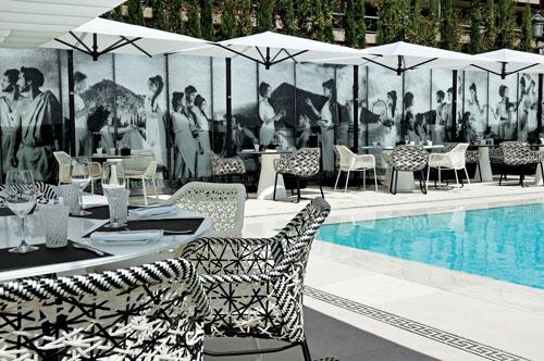 le restaurant de la piscine du Métropole, l'Odyssey