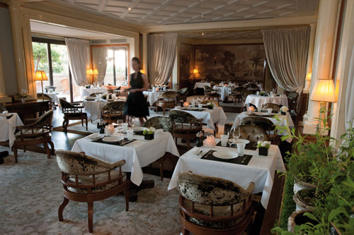le restaurant de l'hôtel Métropole