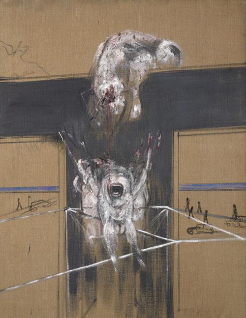 Fragment of a Crucifixion (1950). Francis Bacon. © The estate of Francis Bacon. Tous droits réservés DACS 2016. Photo Hugo Maertens