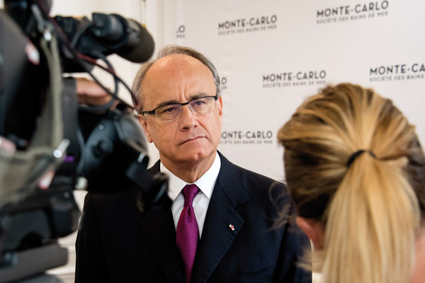 Jean-Luc Biamonti : <br/>«La SBM n'avait pas connu cette situation depuis la guerre»