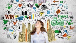 Creation-Entreprise-femme-reve-business-argent