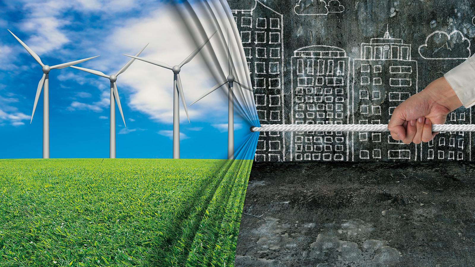 Transition énergétique: les objectifs à horizons 2030 et 2050