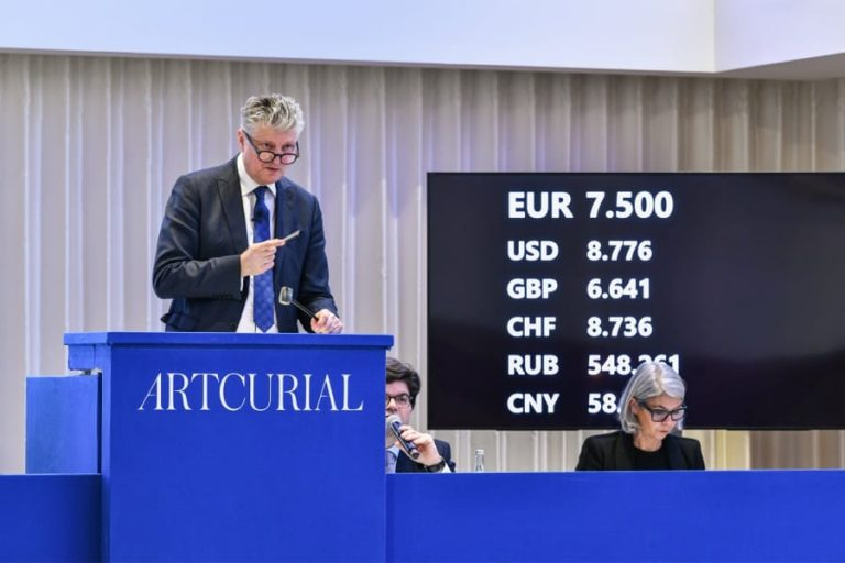 Décès de François Tajan, président délégué d'Artcurial