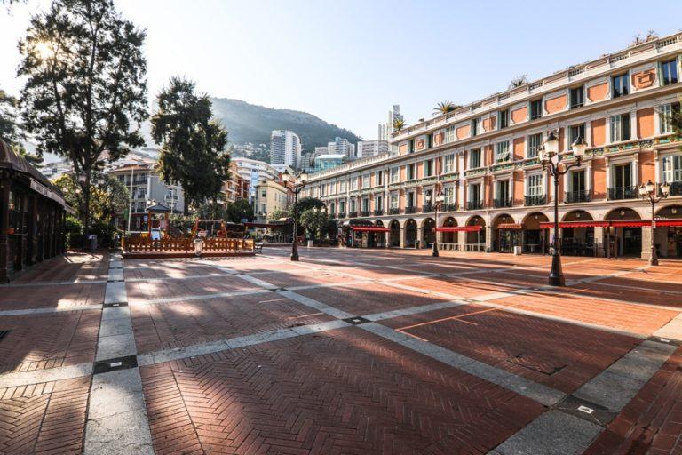 Coronavirus : Monaco désert