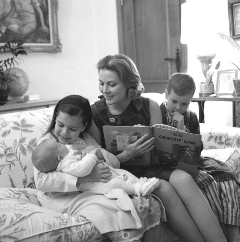 Princesse Grace : anniversaire photos de famille