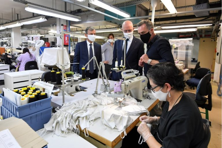 80 000 masques par mois <br/>distribués gratuitement à Monaco