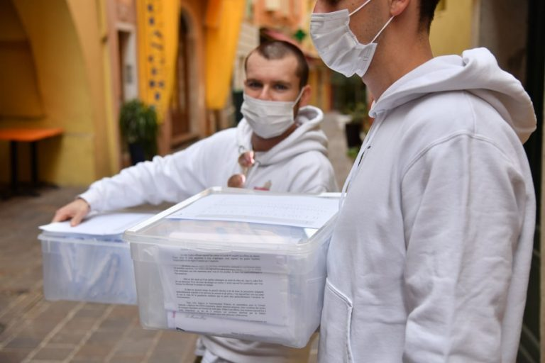 Masques en tissu à Monaco : <br/>comment seront-ils distribués ?